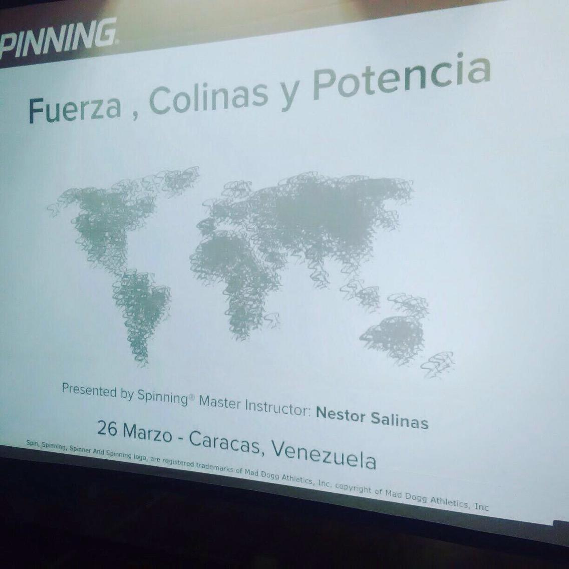 TALLER DE EDUCACIÓN CONTINÚA DE FUERZA COLINAS Y POTENCIA Presentador M.I. Nestor Saliñas (Chile)