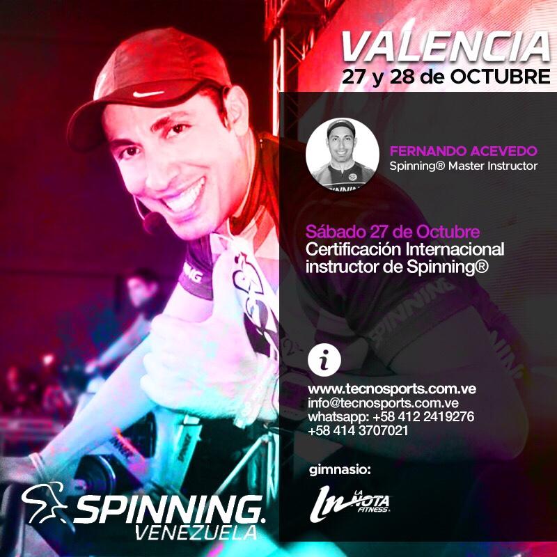Presentador: M.I. Fernando Acevedo -Fer-Master International SPINNING® Program Mad Dogg Athletic